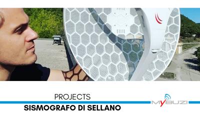 Nuova connessione per il sismografo di Sellano - Progetti - MyBuzi