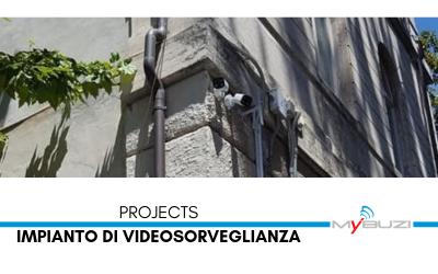 Installazione impianto di videosorveglianza Gualdo Tadino MyBuzi