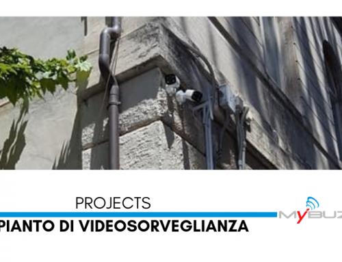 Installazione impianto di videosorveglianza